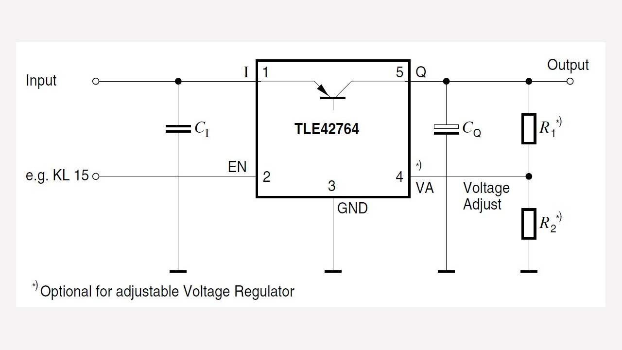 Tle42764gv Infineon Technologies Switching Voltage Regulator Types Prevnext