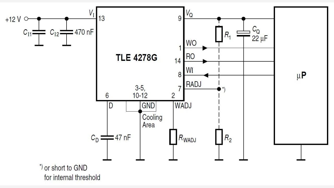 Tle4278g Infineon Technologies 427 Engine Diagram Diagrams Prevnext