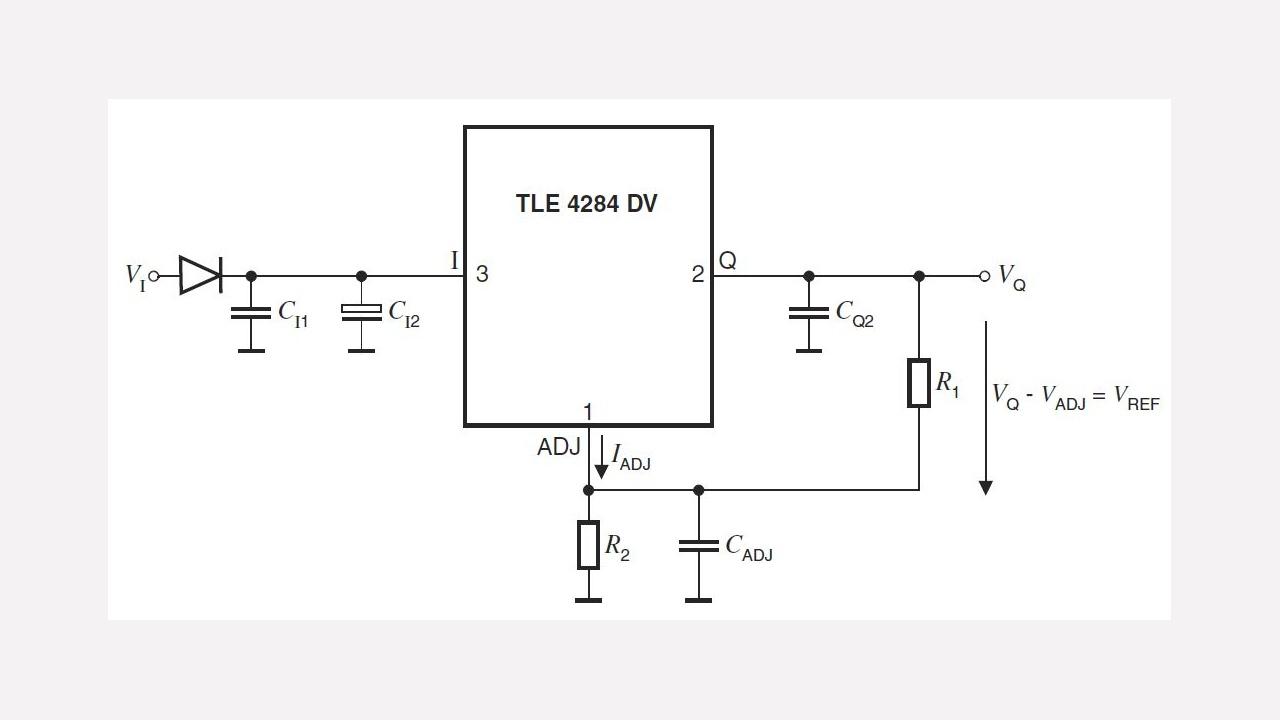 Tle4284dv Infineon Technologies Build Precision Receiver Battery Low Voltage Alarm Circuit Diagram Diagrams Prevnext
