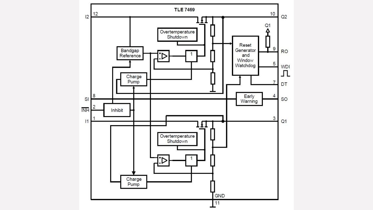 Tle7469g V53 Infineon Technologies Watchdog Circuit Diagram Electronic Diagrams Schematics Prevnext
