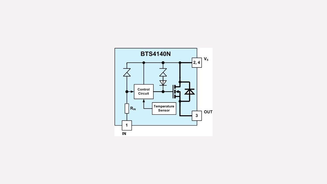 BTS4140N - Infineon Technologies