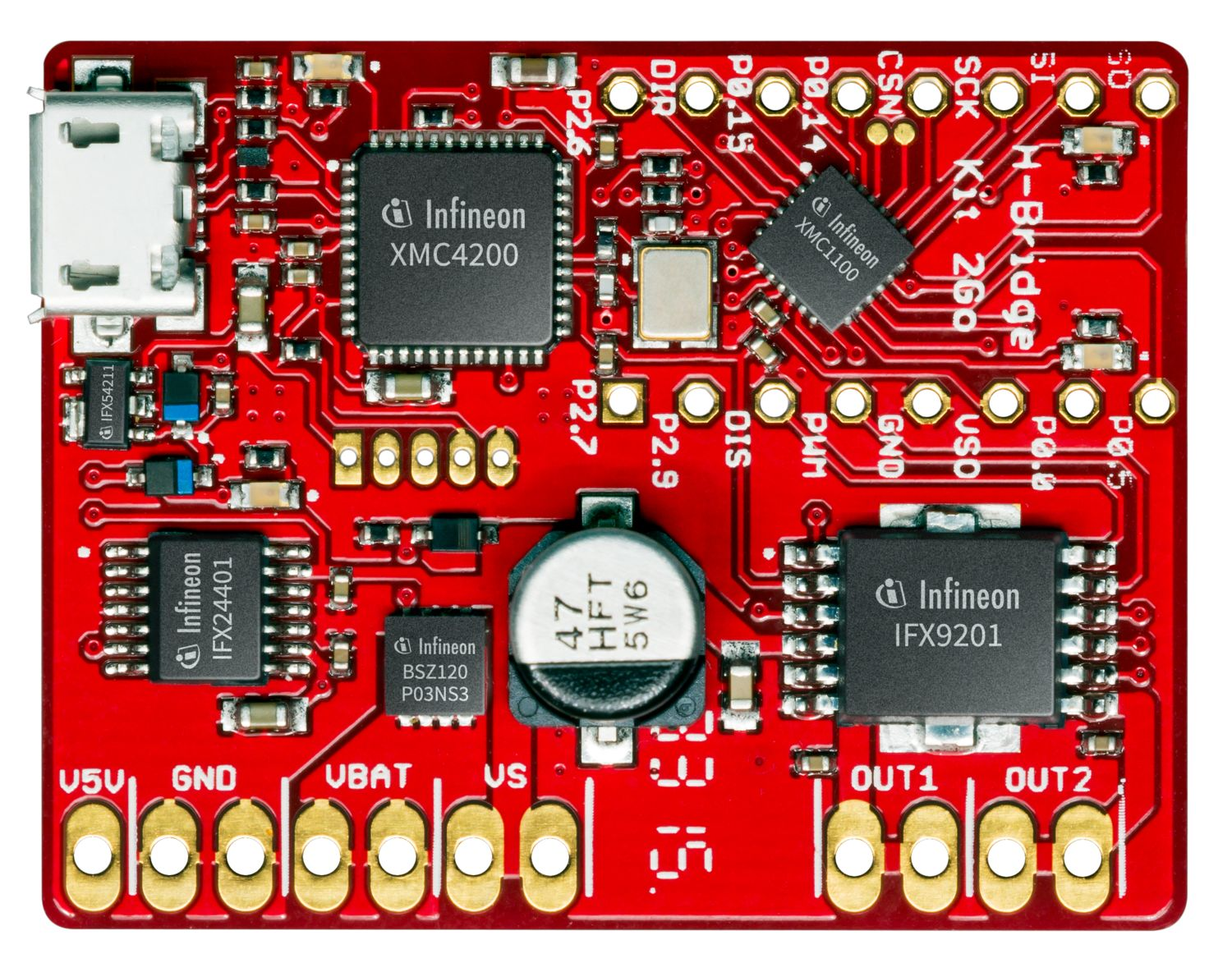 Integrated Full Bridge Driver Infineon Technologies Module Alarm Logic Schematic In The 300v Micro Family Dc Converter