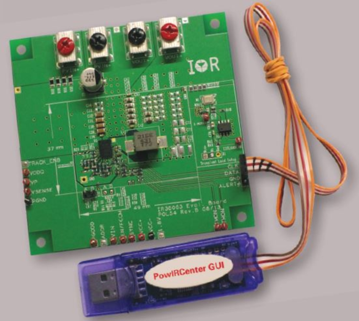 Irdc38060 Infineon Technologies Bare Circuit Board For The 8051 Development