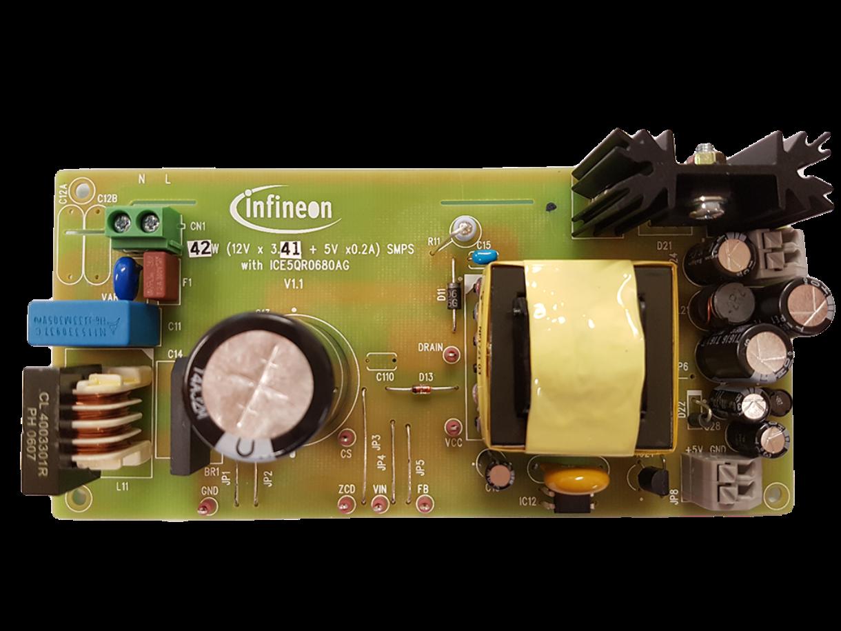 DEMO_5QR0680AG_42W1 - Infineon Technologies