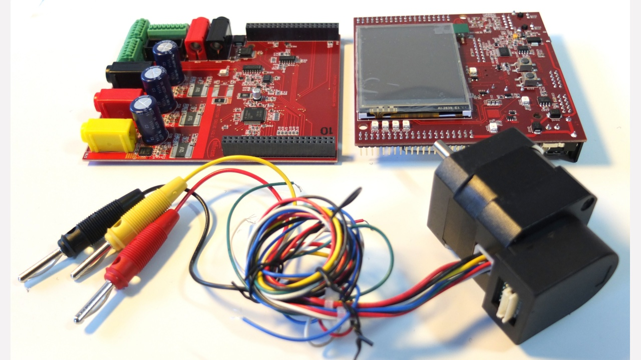 Kit Aurix Tc234 Motorctr Infineon Technologies Brushless Motor Controller Bldc Control With Prevnext