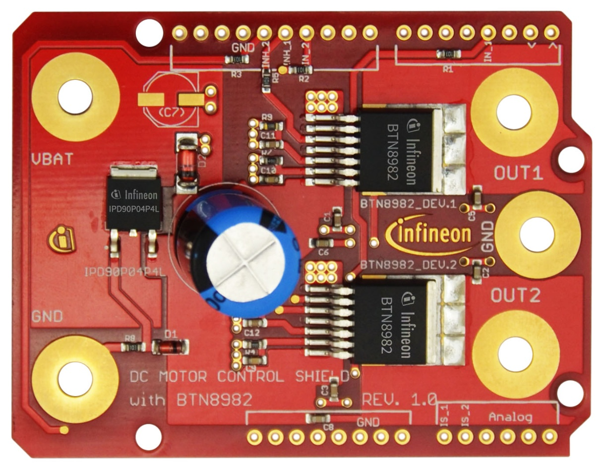 Dc Motorcontr Btn8982 Infineon Technologies Buy Integrated Electronics Analog And Digital Circuit English 2nd Online