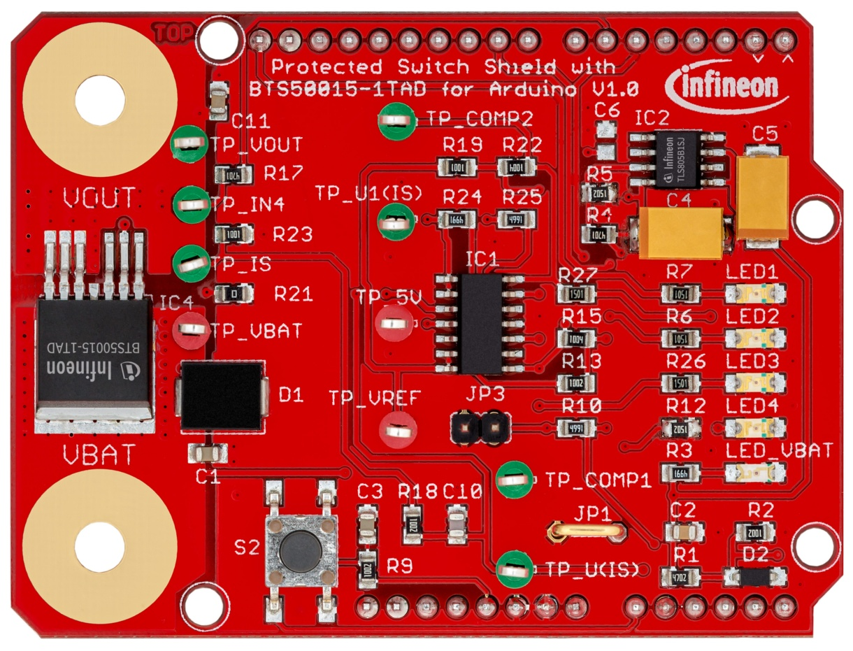 Infineon for Makers | Shields for Arduino - Infineon