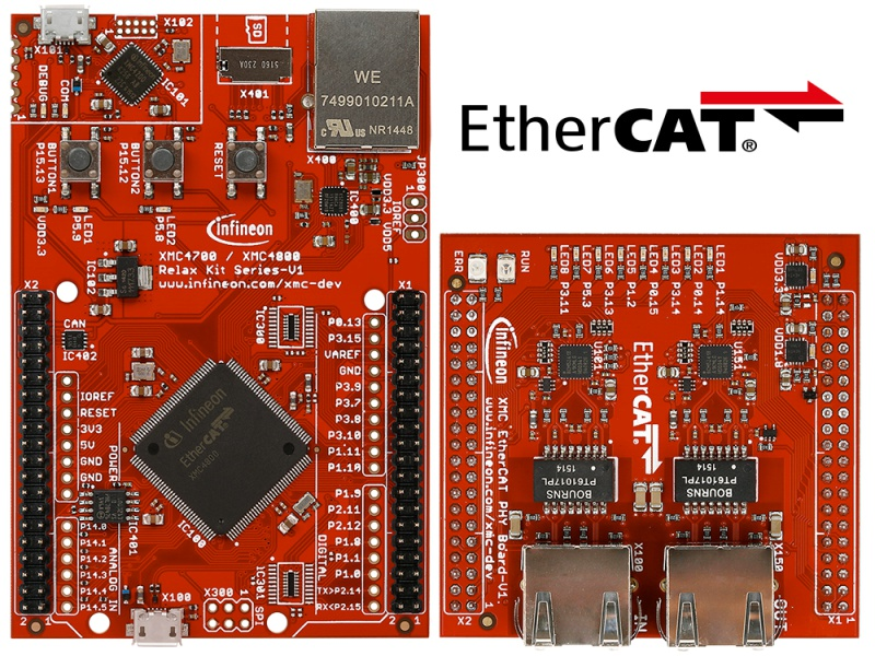 XMC4800_Relax_EtherCat_Kit