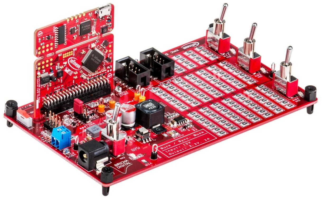 Kit Xmc Dp Exp 01 Infineon Technologies Bare Circuit Board For The 8051 Development Buy Online
