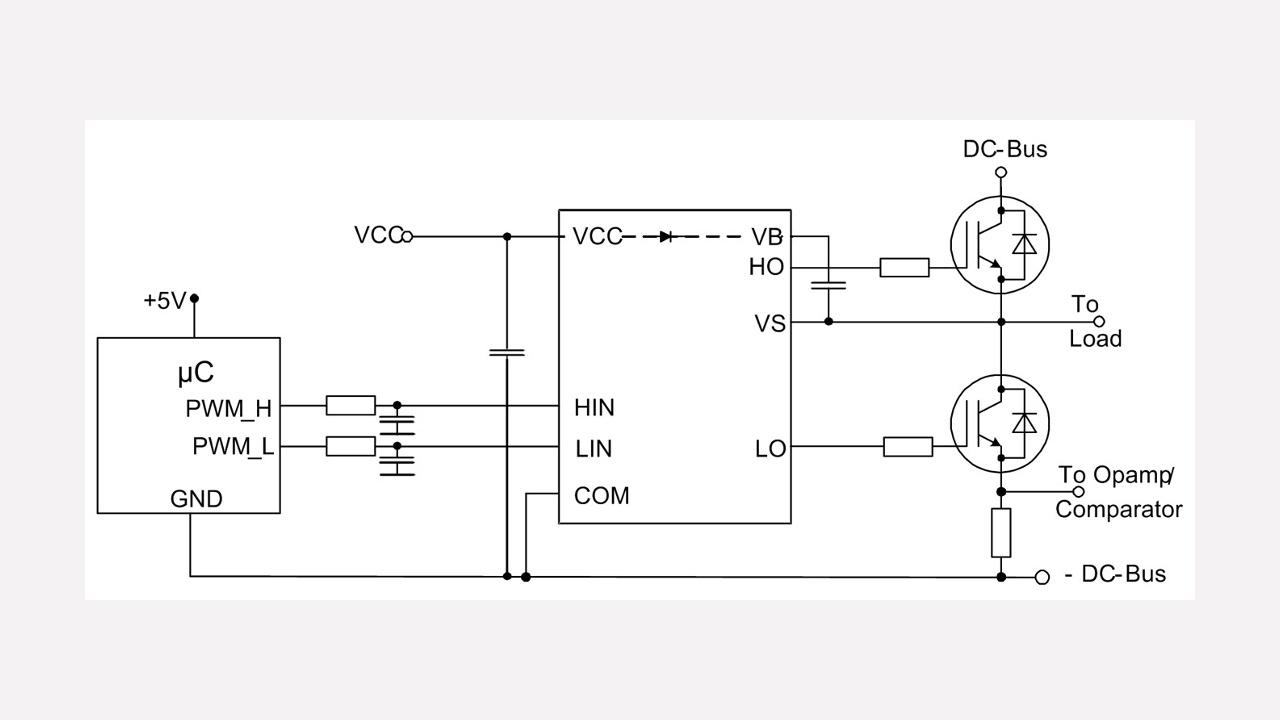 2ed2304s06f Infineon Technologies Circuit Diagram Basic Low Voltage Latching Relay Driverhtml Diagrams Prevnext