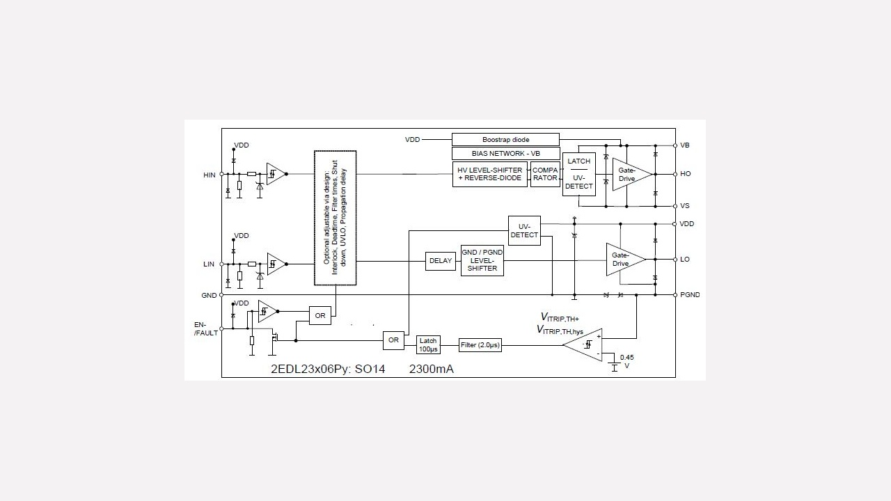2edl23n06pj Infineon Technologies How To Build A Flex Sensor Circuit With Voltage Comparator Prevnext
