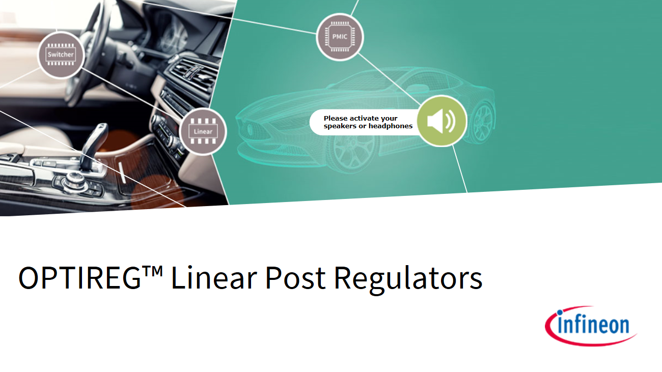 OPTIREG Linear Post Regulator