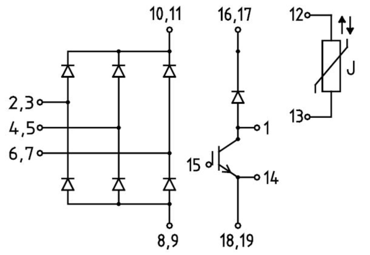 Ddb6u104n16rr Infineon Technologies Solydine M28 Wiring Diagram Diagrams Prevnext
