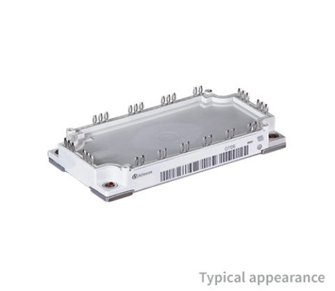 Product picture for EconoPACK™ 3 IGBT Modules with PressFIT mounting technology and pre-applied Thermal Interface Material