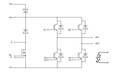 Single-phase Inverter Module Diagram