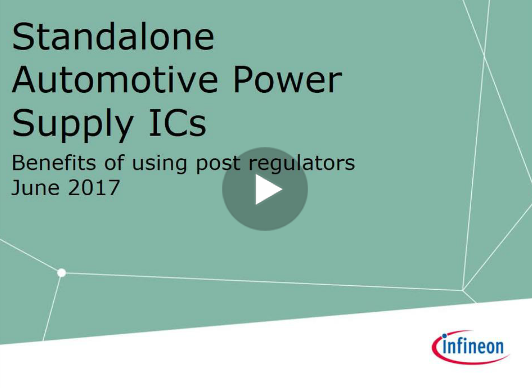 Standalone Automotive Power Supply ICs