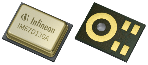 high performance MEMS silicon microphone IM67D130A