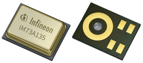 high performance MEMS silicon microphone IM73A135