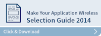 Make your applications wireless 2015 button