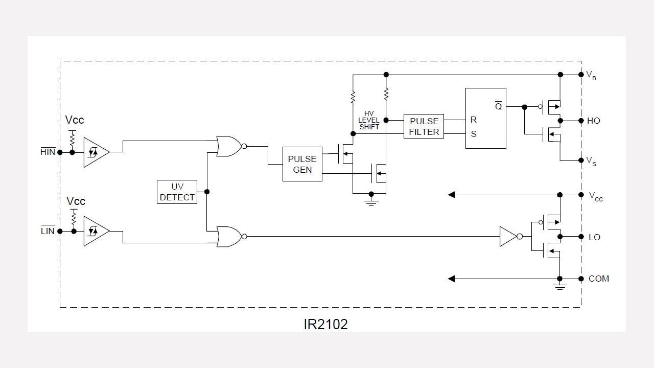 Ir2102 Infineon Technologies Ir2110 High Speed Power Mosfet Lead Assignments And Datasheet Prevnext