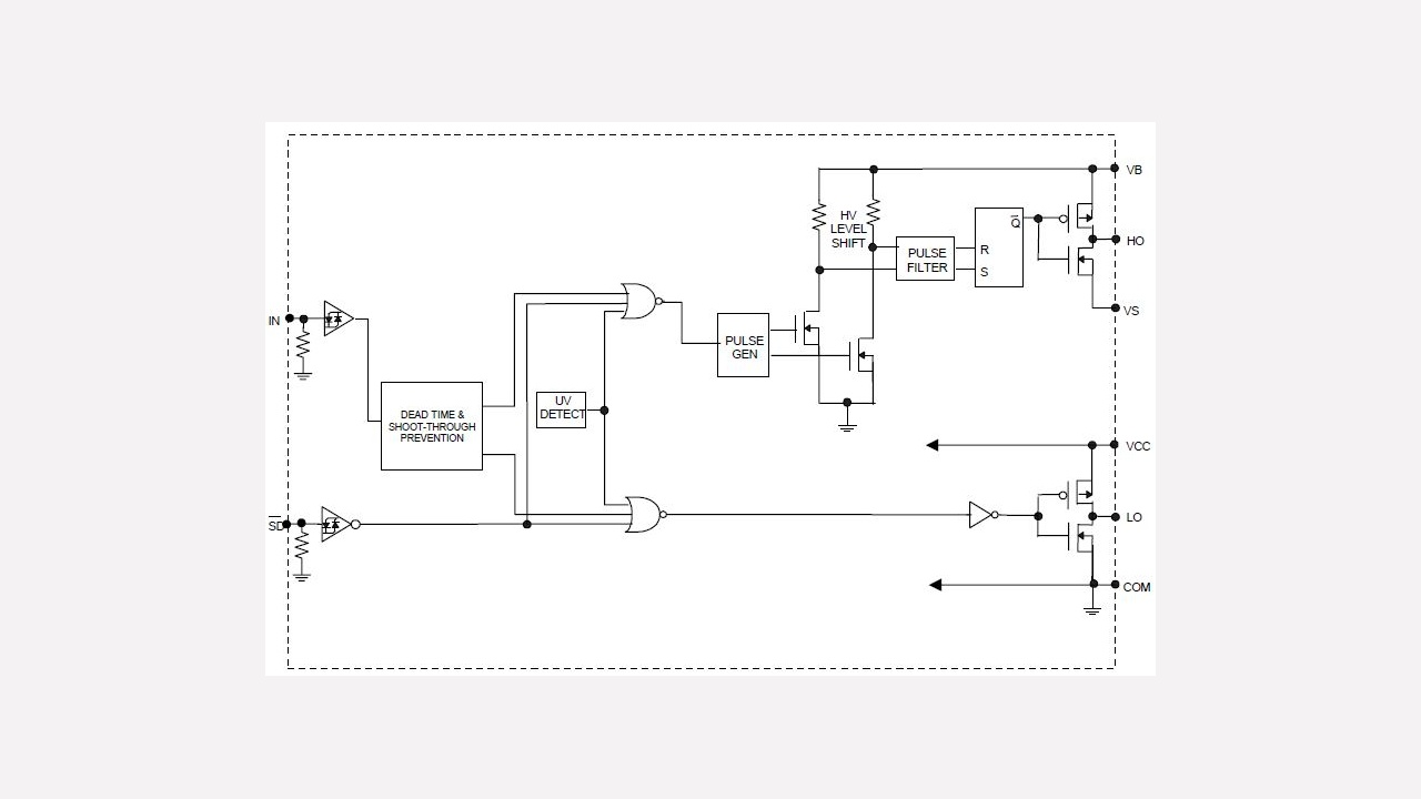 Ir2104 Infineon Technologies Ir2110 High Speed Power Mosfet Lead Assignments And Datasheet