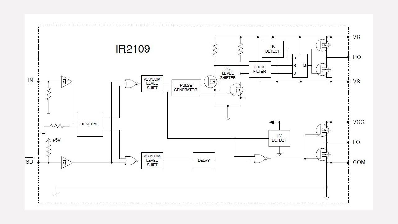 Ir2109 Infineon Technologies Figure 9 Traction Generator Field Wiring Diagram Diagrams Prevnext