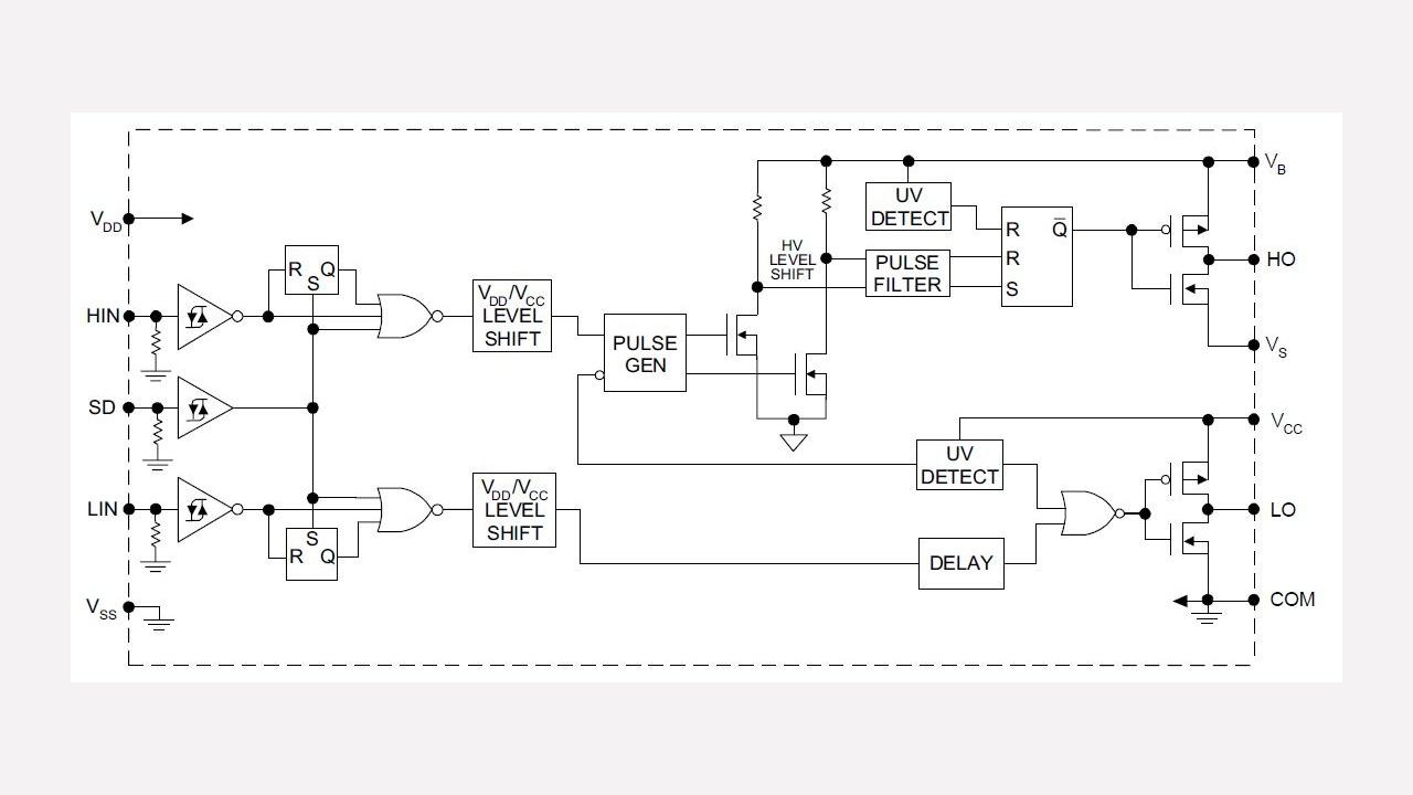 Logic Gates Diagram Engine Schematic Best Wiring Library Increasing Amplifier Output Current Circuit Tradeoficcom Ir2112