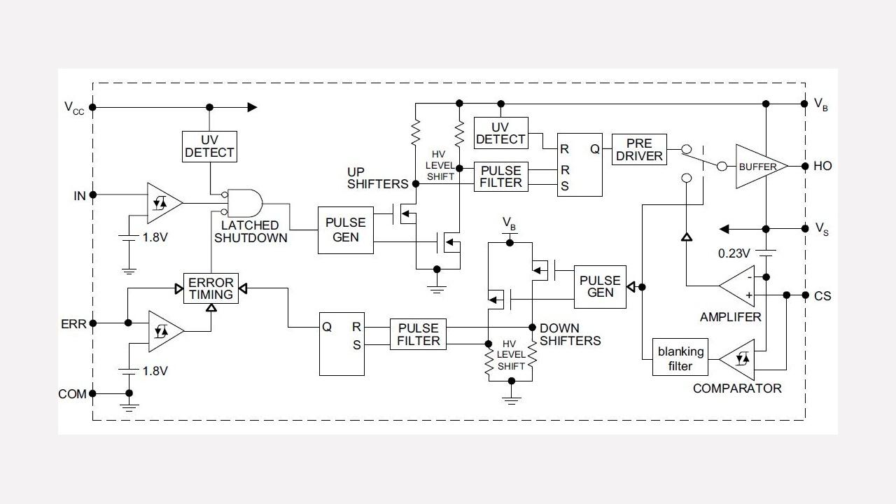 Ir2125 Infineon Technologies Circuit Diagram Of Induction Cooker Diagrams Prevnext