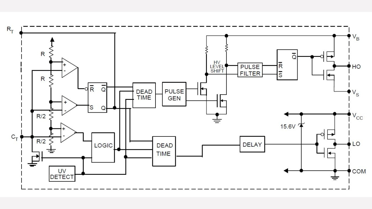 Ir2153 Infineon Technologies Pdf Class D Tutorial Amp With Ir Driver Chip