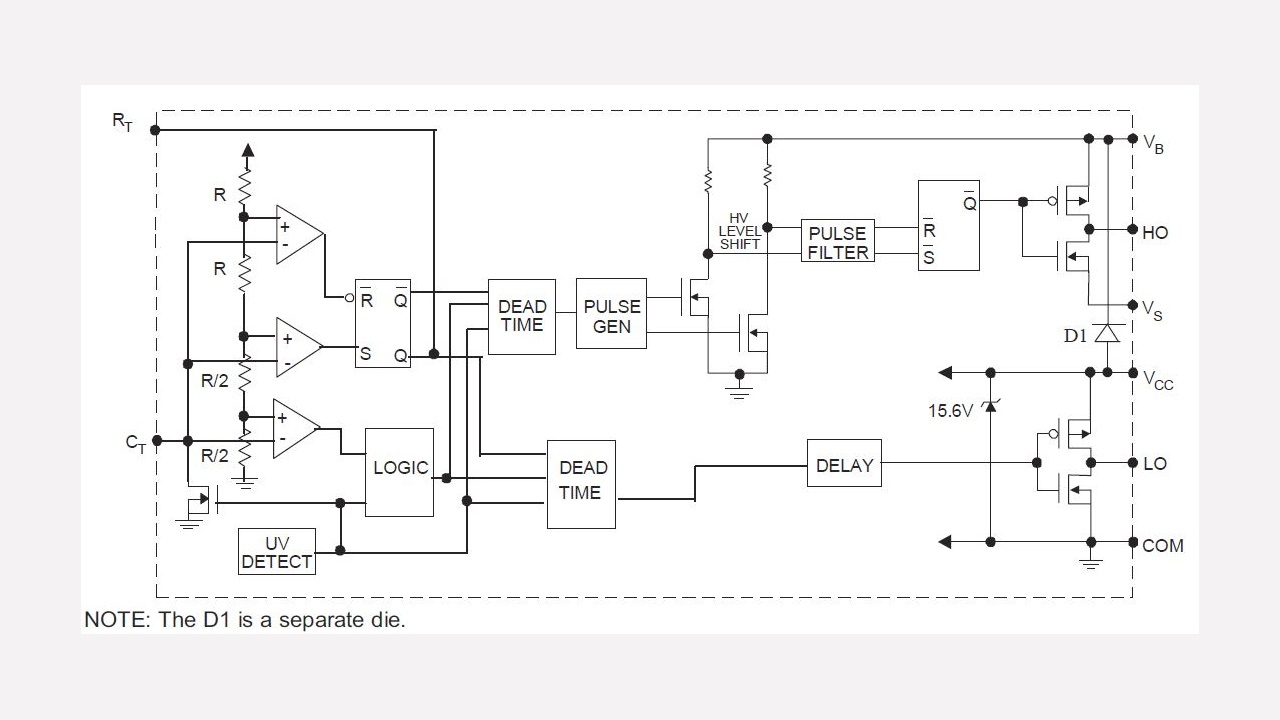 Ir Receiver Circuit Diagram Ir2153d Infineon Technologies