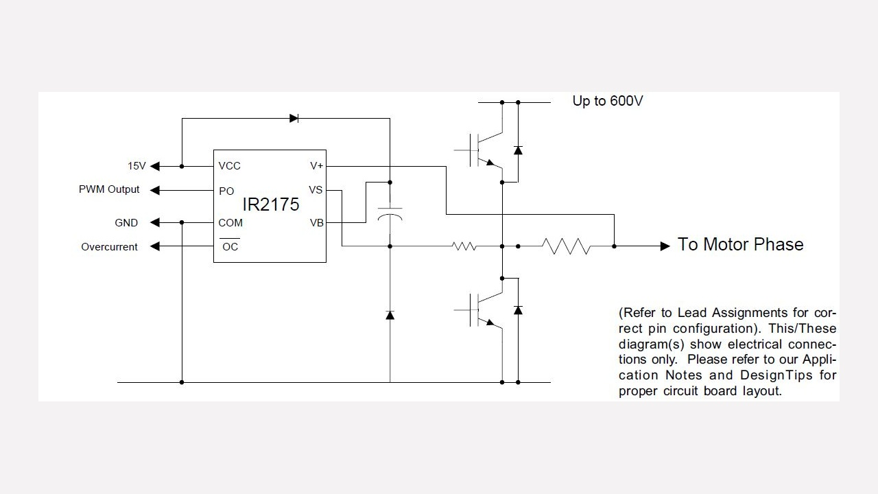 Ir2175 Infineon Technologies Telephone Hybrid Circuit Schematic Free Download Wiring Diagram Diagrams Prevnext