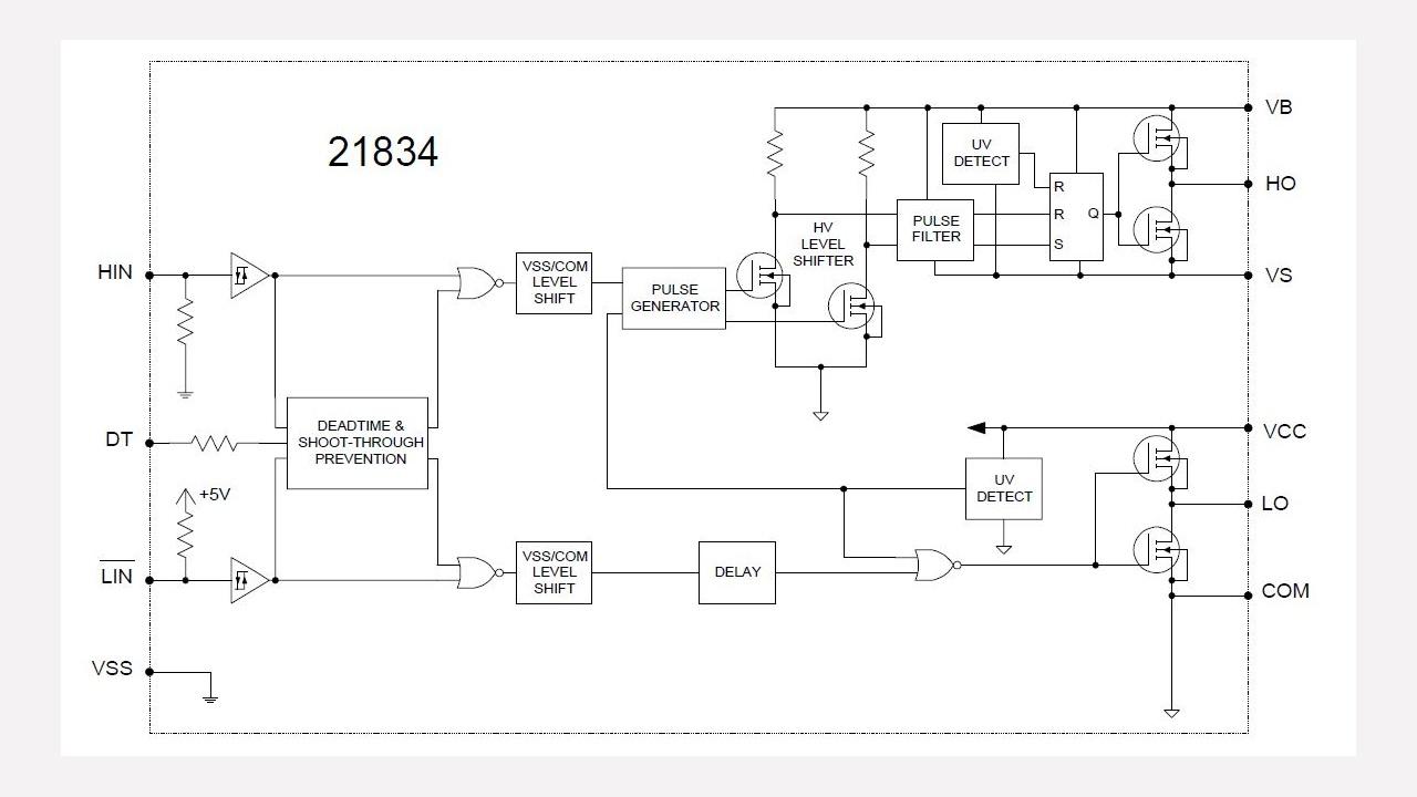 Ir21834s Infineon Technologies Pulse Delay Circuit Prevnext
