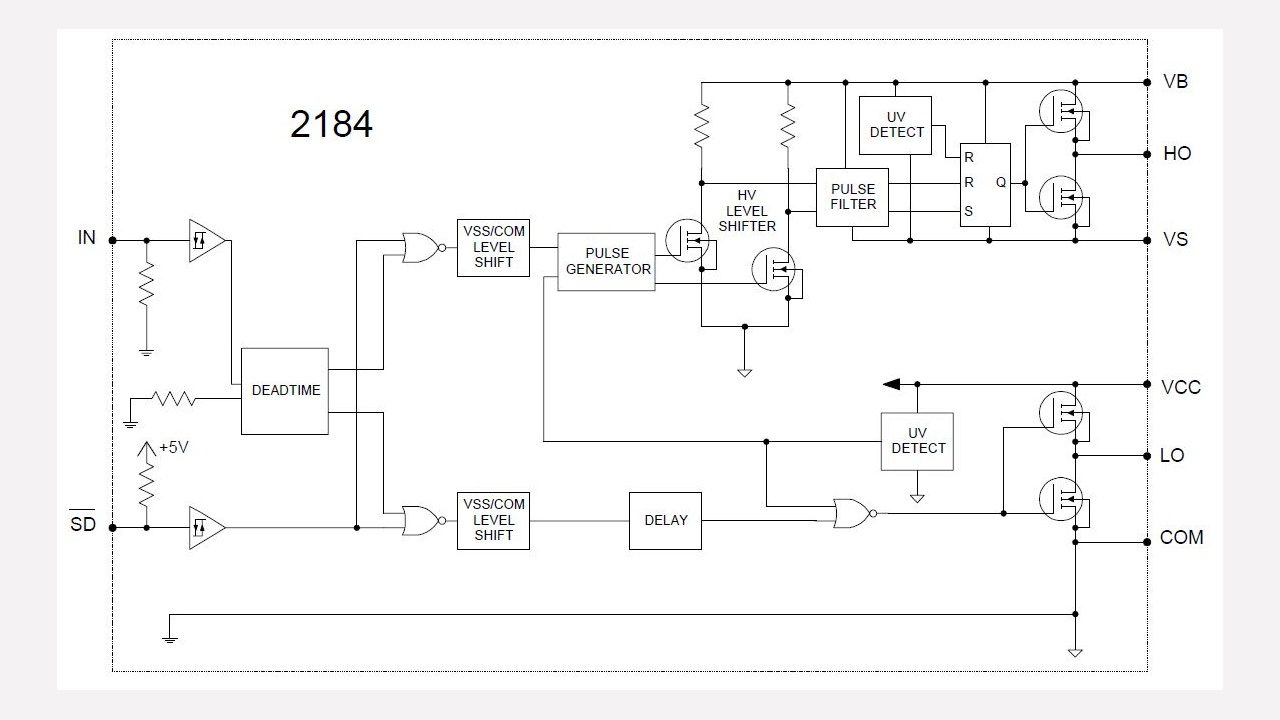 Ir2184 Infineon Technologies Circuit Converts Pwm Fan Drive To Linear And Reduces Acoustic Noise