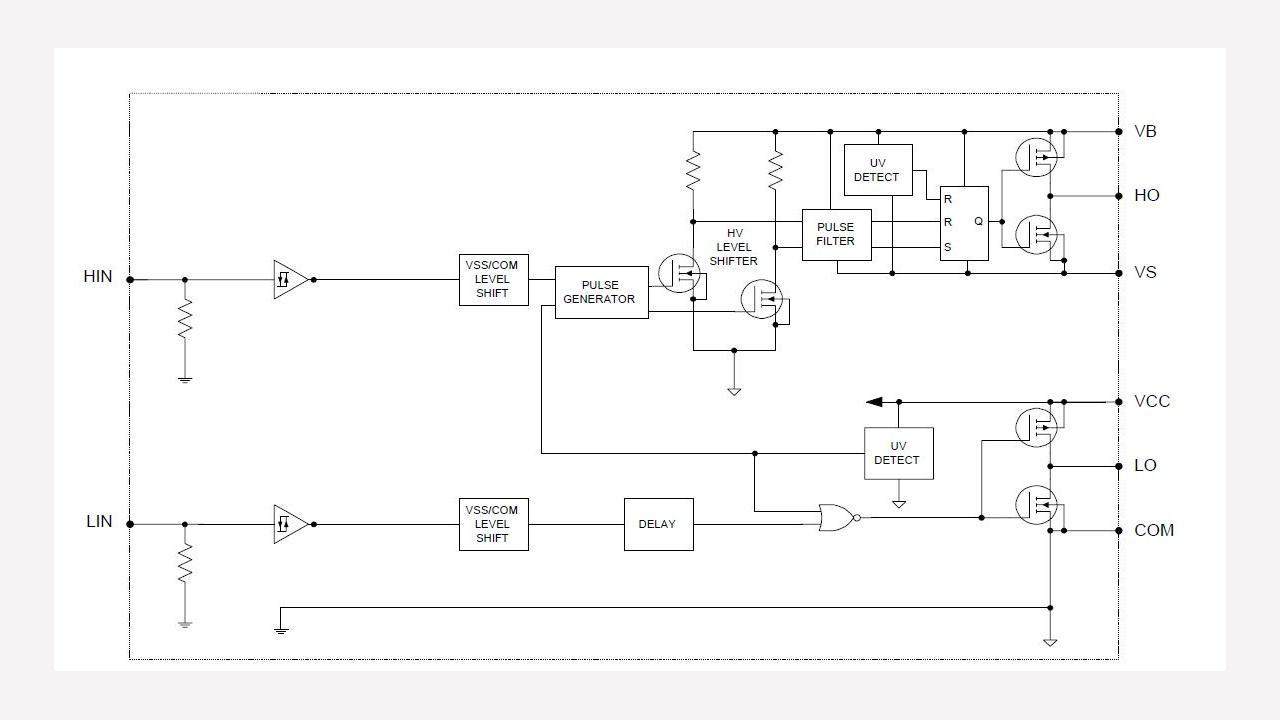 Ir2301 Infineon Technologies Linear Optocoupler Circuit Soft Start For 12 Volt Halogen Lamps Prevnext