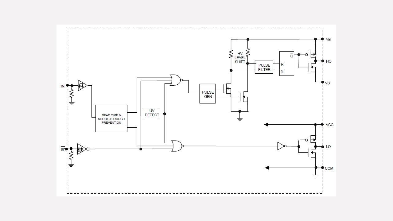 Irs2104 Infineon Technologies Linear Optocoupler Circuit Soft Start For 12 Volt Halogen Lamps Prevnext
