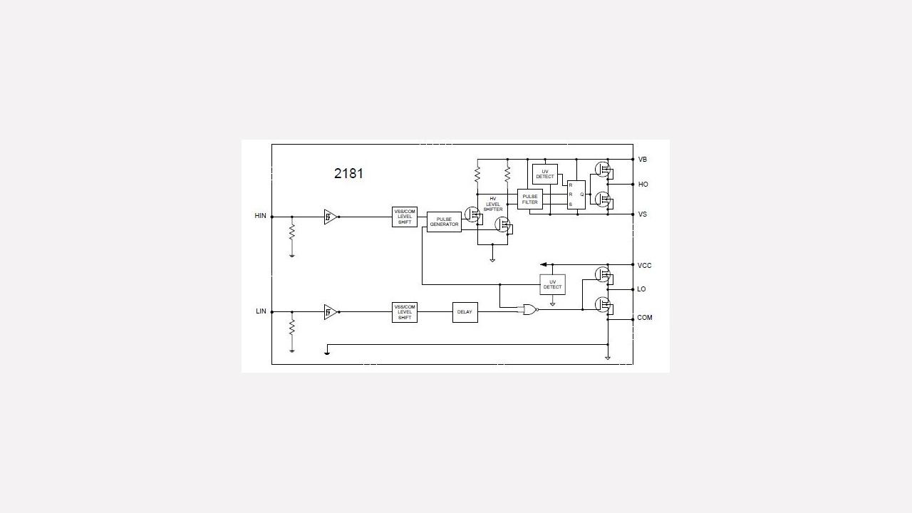 Irs2181 Infineon Technologies Contactless Ac Mains Voltage Detector Circuit Diagram Diagrams Prevnext