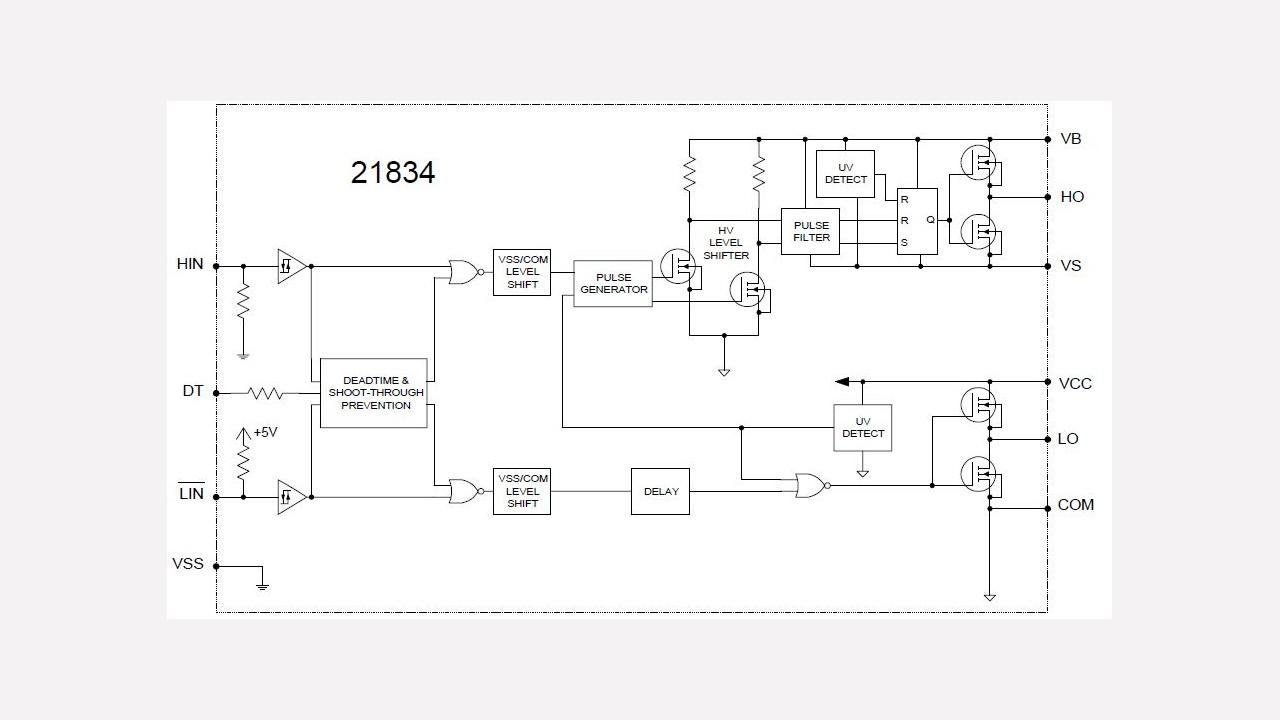 Irs21834 Infineon Technologies Linear Optocoupler Circuit Soft Start For 12 Volt Halogen Lamps Prevnext