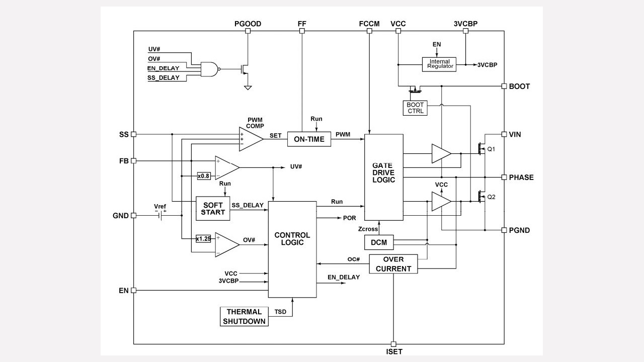 Ir3477m Infineon Technologies Circuit Diagram Not Gate Diagrams Prevnext