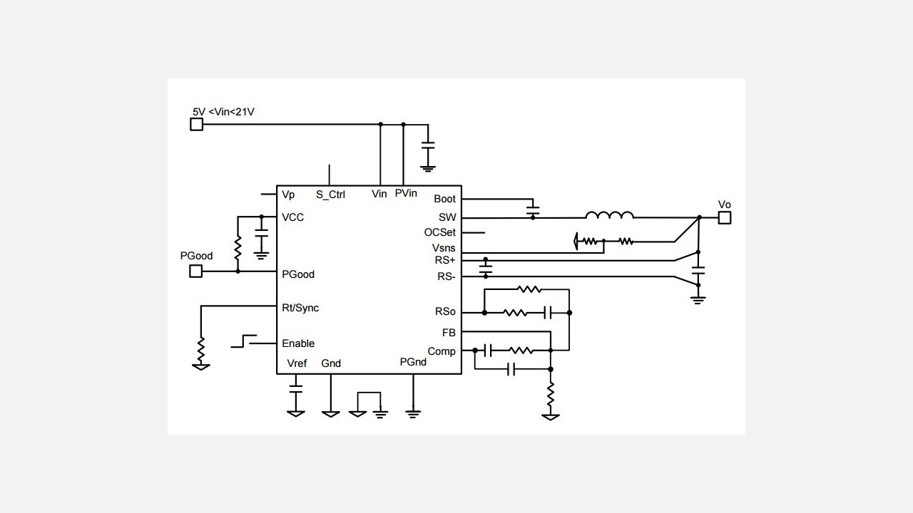 Ir3846m Infineon Technologies Supply 5v Vcc And 12v To 30v Input Led Driver Application Circuits Prevnext