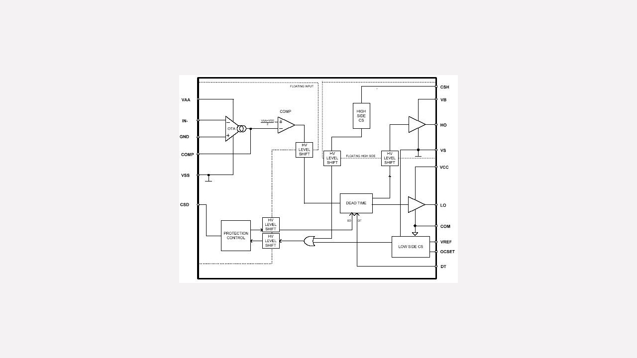 Auirs2092s Infineon Technologies Voltage Floating Regulator Here Is The Schematic Or Download It As A Prevnext