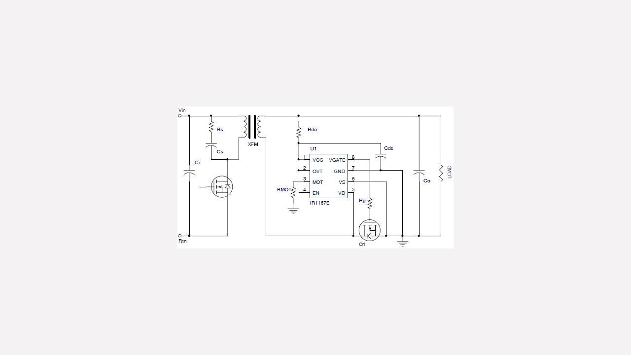 Ir1167bspbf Infineon Technologies Linear Optocoupler Circuit Soft Start For 12 Volt Halogen Lamps Prevnext