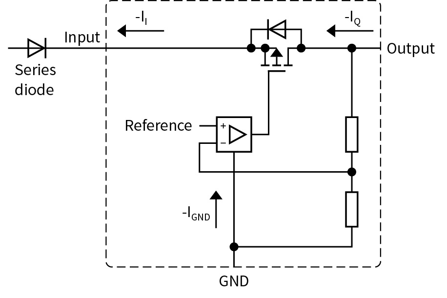 voltage regulator reverse polarity