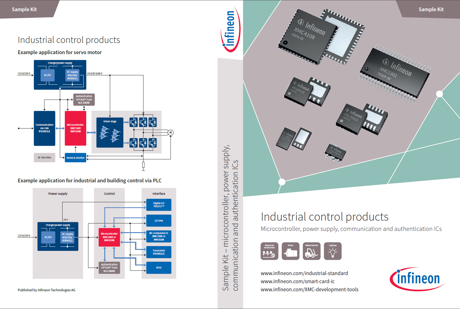 Linear Voltage Regulators For Industrial Applications Infineon Simple Power Supply Circuit Dc Control Products