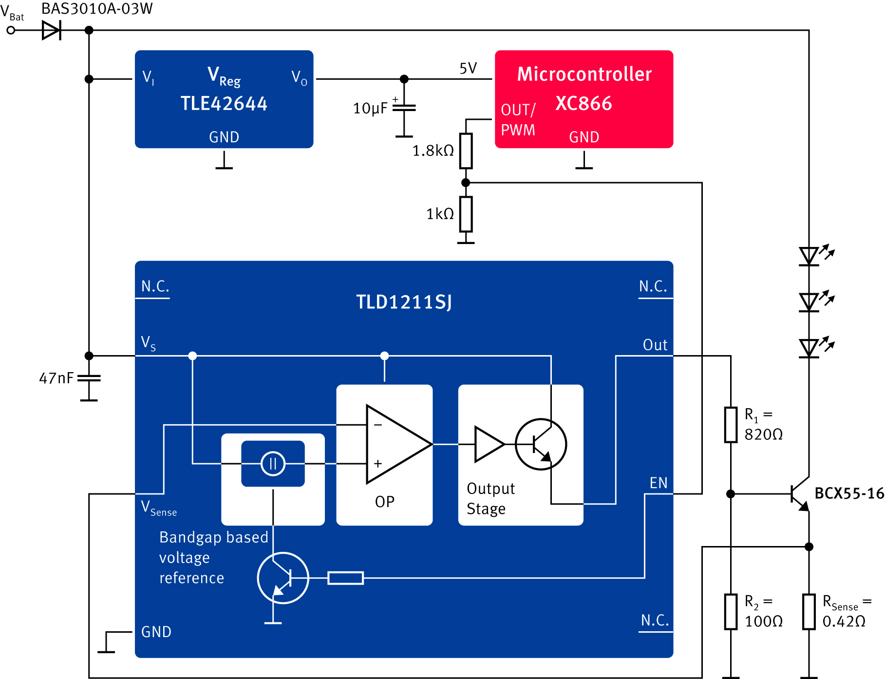 TLD1211SJ_Block diagram