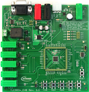 TLE983x-evaluation-board